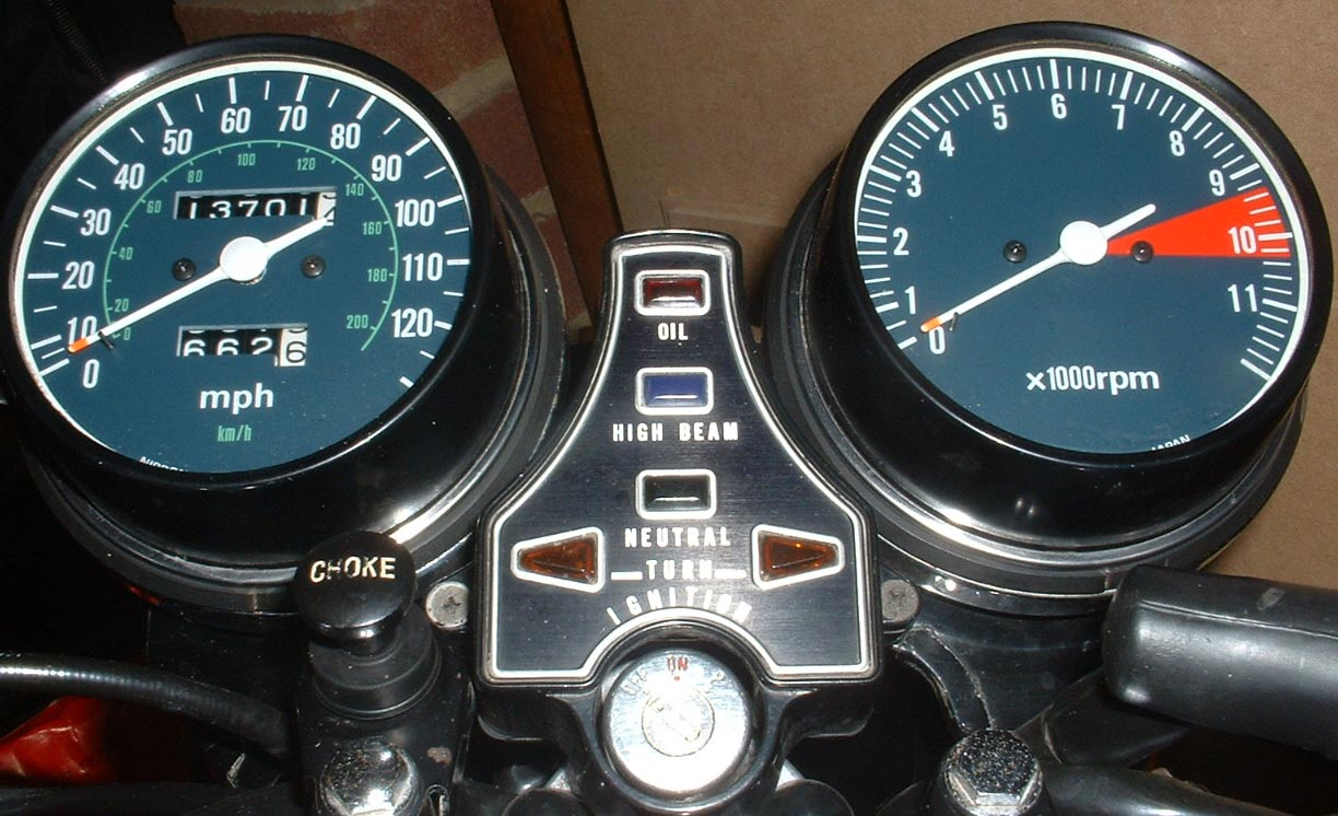 CB550K3 Clocks