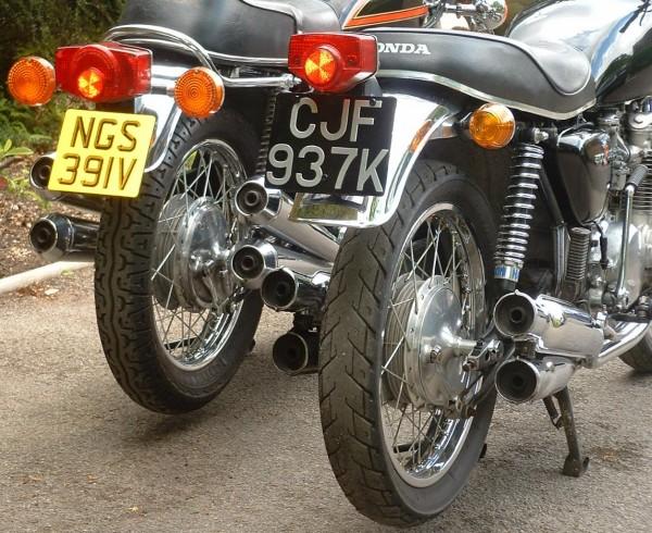Honda CB500/4 & CB550K3