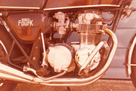 Honda CB550K3 Engine
