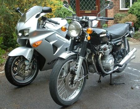 Honda CB500/4 & VFR800Fi-1