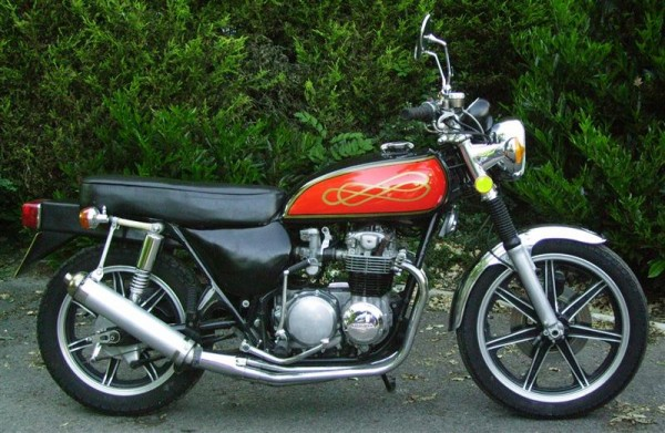 Honda 500/4 Silver Machine
