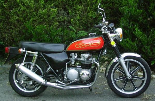 Honda 500/4 Silver Machine