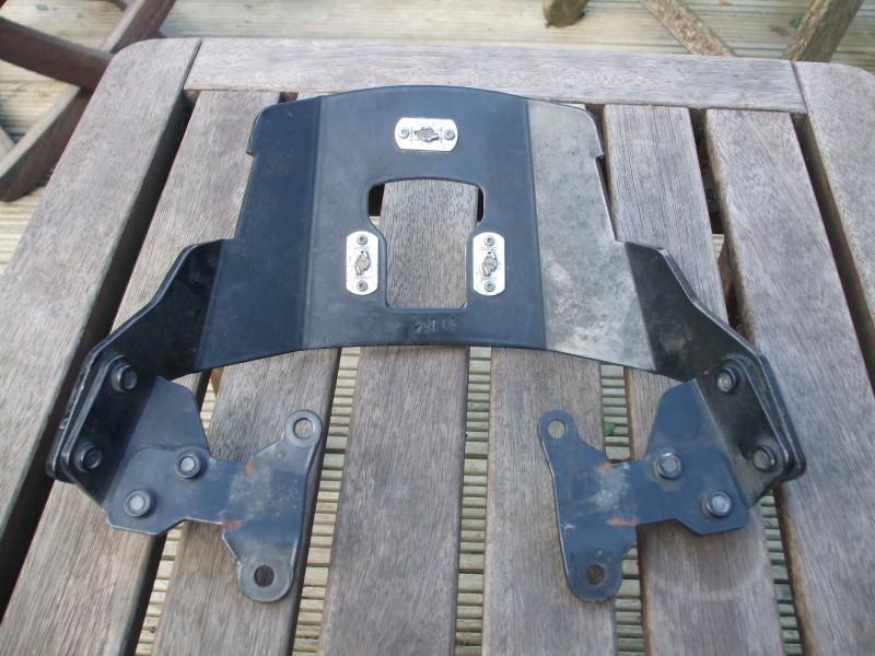 SW Motech rack - underside