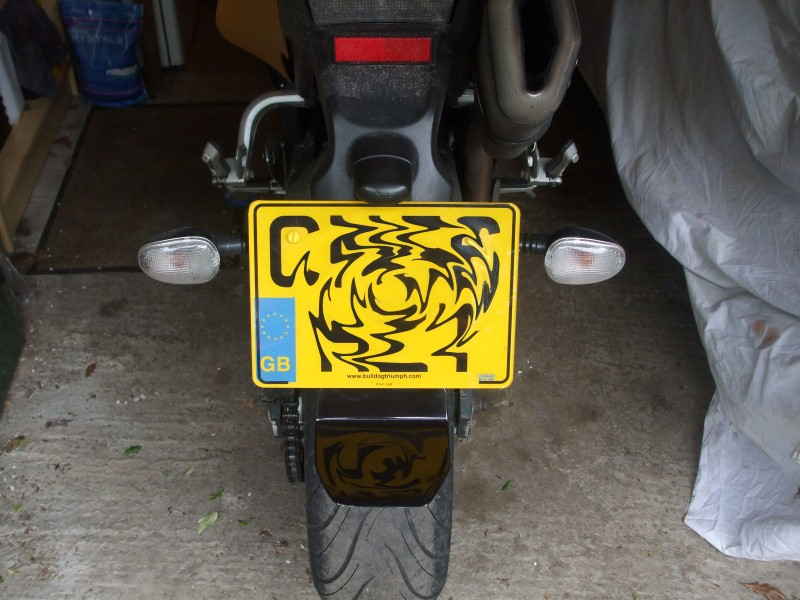 Buttflap Fitting Tiger 1050