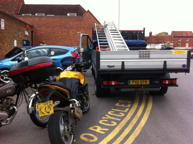 Motorcycle Parking Bay Rose Street Wokingham