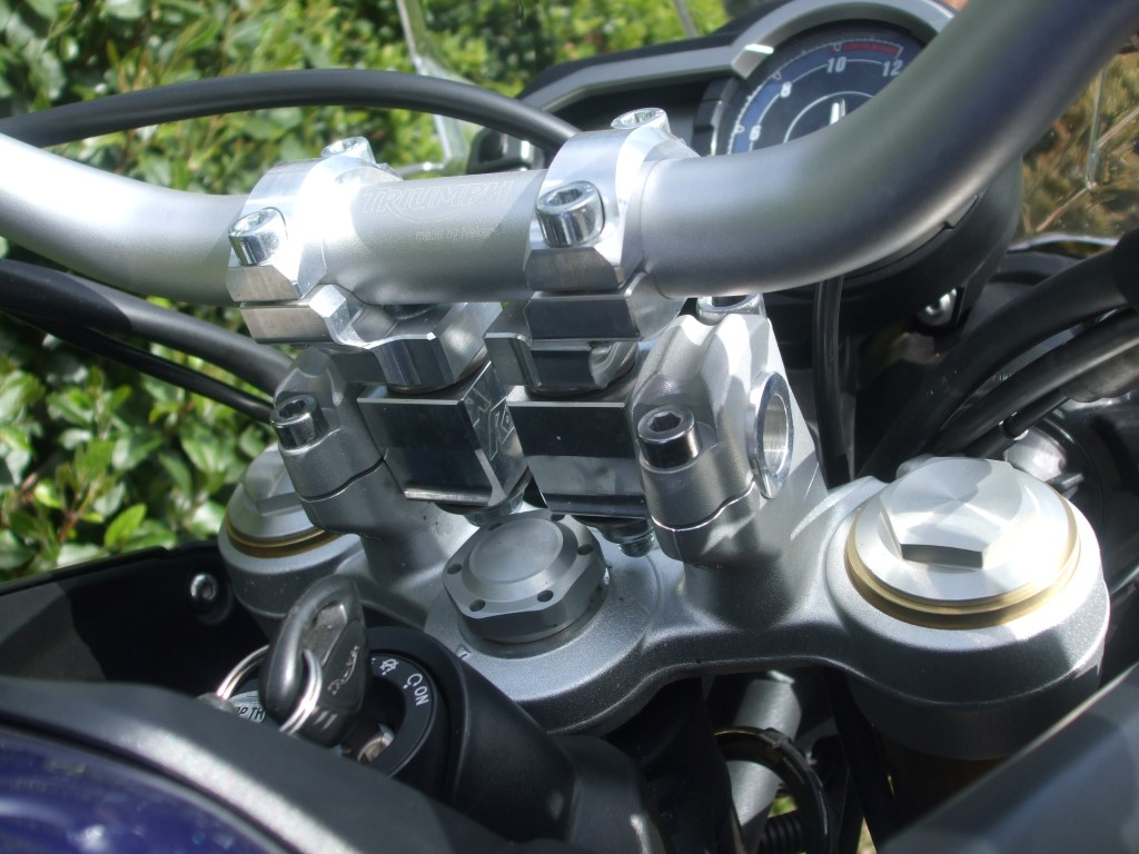 Tiger 800 Bar Risers